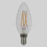 LED Filament Kerze E14 4Watt Twist Candle