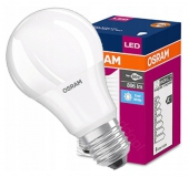 LED E27 Osram 8,5W coolwhite A60