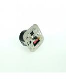 LED B22D Birne CLASSIC 8Watt (810lm) warmweiß  (ca. 3000K) DC kompatibel