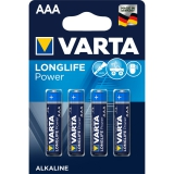 VARTA Micro AAA LR3 V4903 High Energy 4er Blister