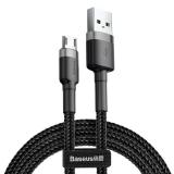Kabel USB - microUSB 2,4A 0,5m