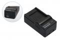 4in1 Ladegerät für Nikon EN-EL10 - Olympus Li-40B - Fuji NP-45 - Pentax D-Li63
