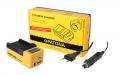 Synchron USB Ladegerät für Panasonic VW-VBK180 VW-VBK360 VW-VBL090 mit LCD-Display