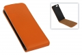 Flip Case für Apple iPhone 5 (orange)
