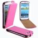 Flip Case für Samsung I9300 Galaxy S3 dark-pink
