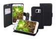 Schutzhülle für Samsung Galaxy S7 im Bookstyle Format  (schwarz)