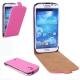 Flip Case für Samsung I9500 Galaxy S4 pink