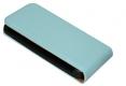 Flip Case für Samsung I9190 Galaxy S4 mini hellblau