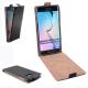 Flip Case für Samsung Galaxy S6 edge (schwarz)