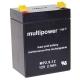 Multipower MP2,9-12 12V 2,9Ah Blei Akku