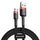 Kabel USB - microUSB 1,5A 2m CAMKLF-C91