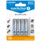 everActive AAA Ni-MH 800mAh ready to use 4er Pack