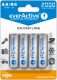 everActive AA Ni-MH 2000mAh ready to use 4er Pack